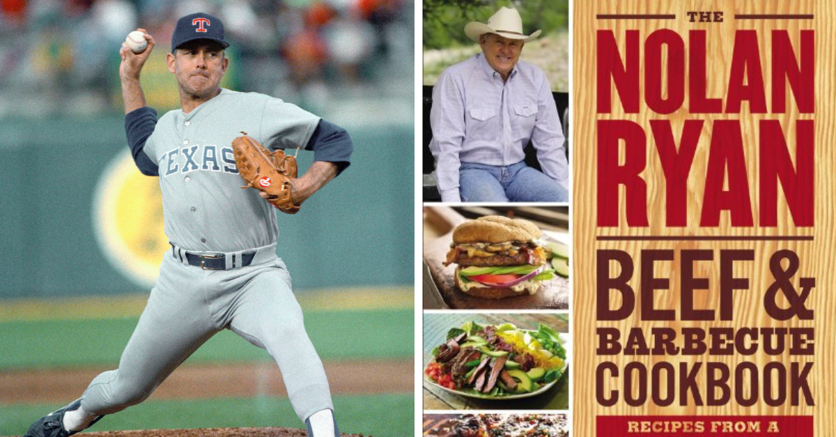 Every Texan Needs Nolan Ryan's Beef & Barbecue Cookbook