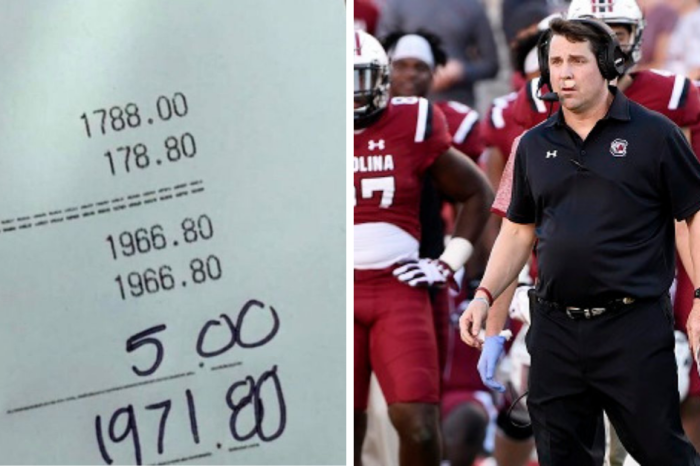 South Carolina Football Ordered $2K Worth of Pizza. They Tipped the Driver 5 Bucks.