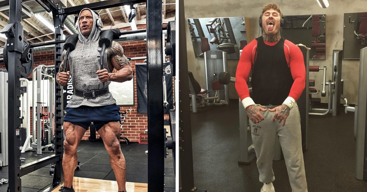 I Need to See The Rock and Miami's Badass Punter Workout Together