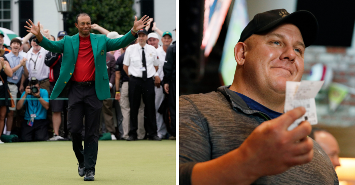 Gambler Wins $1.2 Million on Tiger Woods' Masters Victory