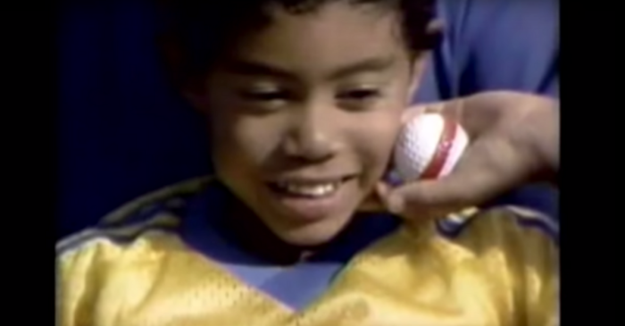 Remember When 5-Year-Old Tiger Woods Was on This '80s TV Show?