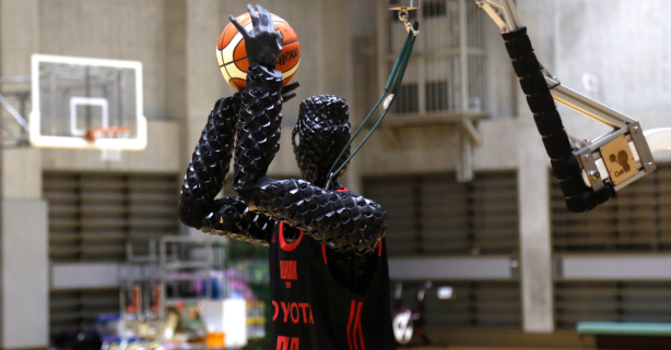 Toyota's Robot Can't Dunk, But It Will Easily Beat You in a 3-Point Contest