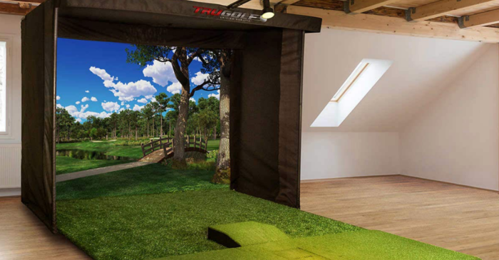 This At-Home Golf Simulator is Your Ticket to America's Greatest Courses