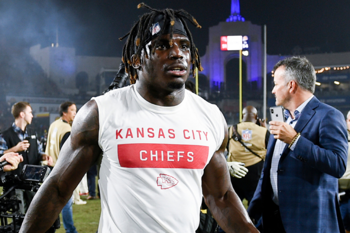 Chiefs' Tyreek Hill Maintains Innocence in Domestic Violence Case