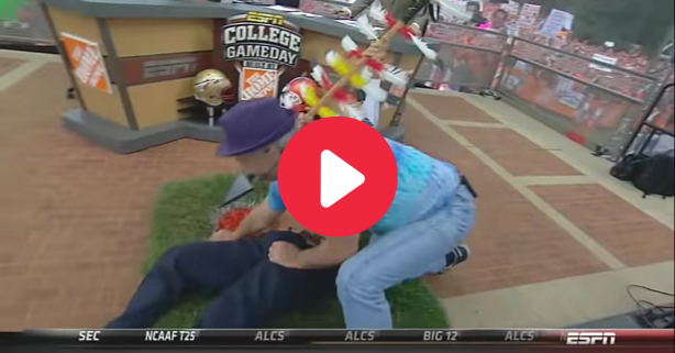 The Time Bill Murray Fought Lee Corso at College GameDay