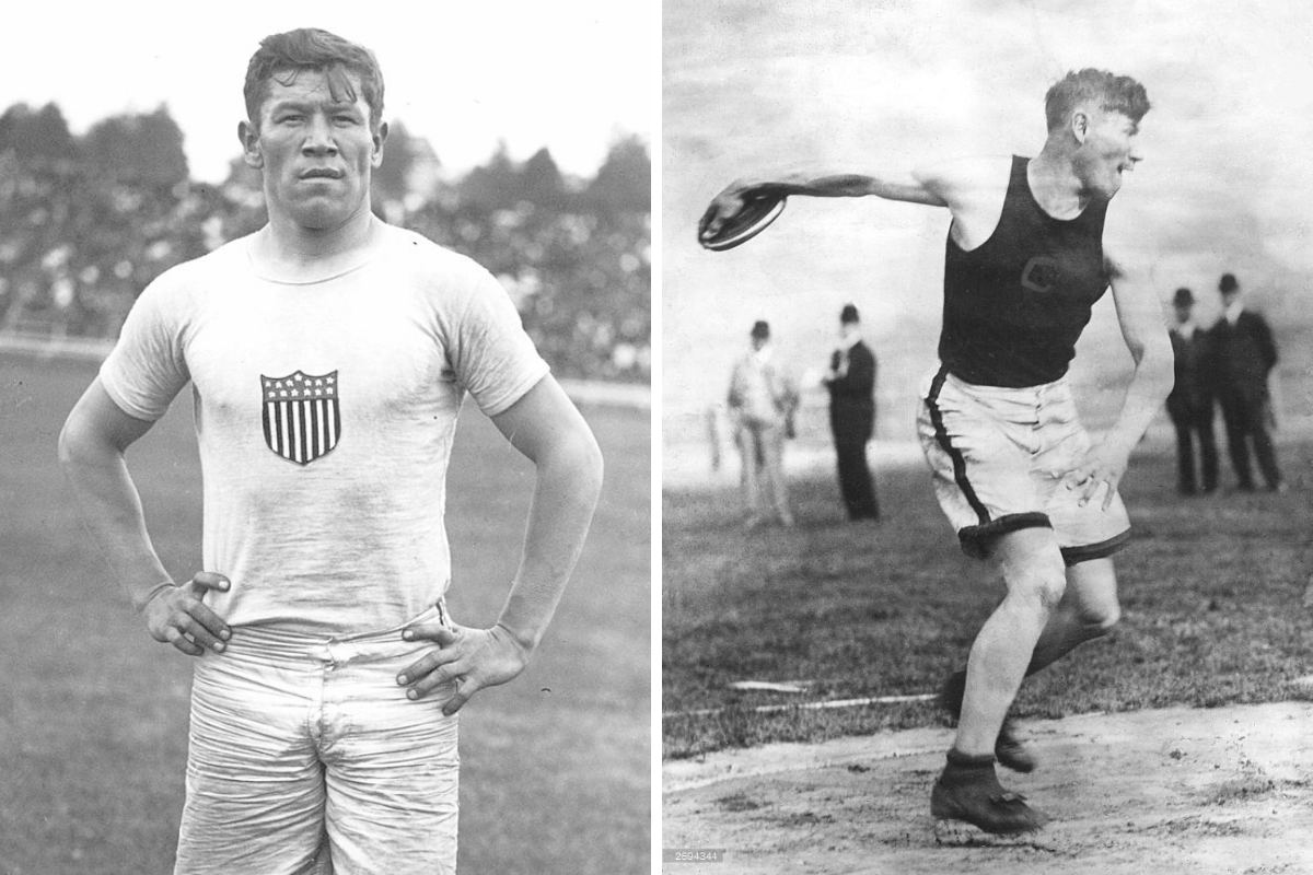 """Jim Thorpe Wore """"Trash Can Shoes"""" & Still Won Gold at the 1912 Olympics"""