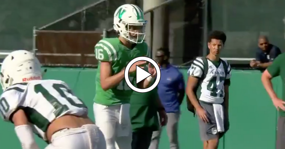 WATCH: Arch Manning Has a Rocket Right Arm and Future in the SEC