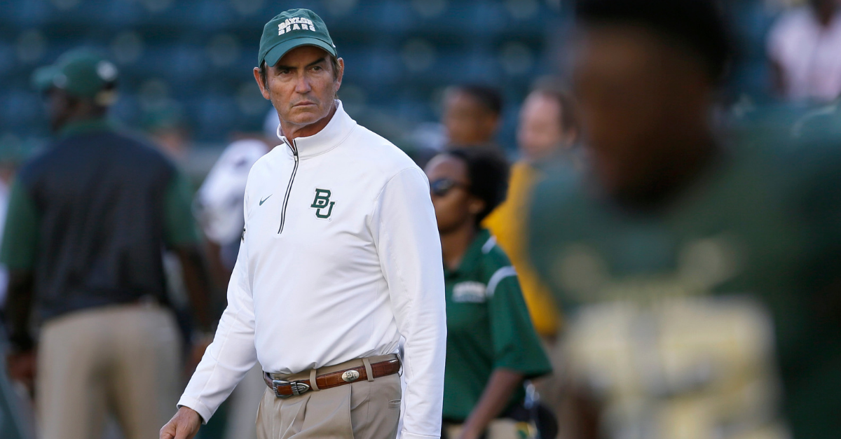 Art Briles, Fired by Baylor, In Trouble Again with New Team