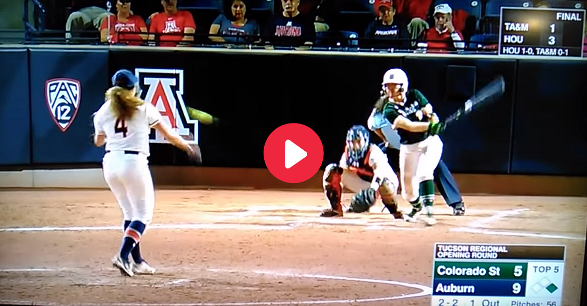 Auburn Pitcher Hit by Scary Line Drive at NCAA Tournament