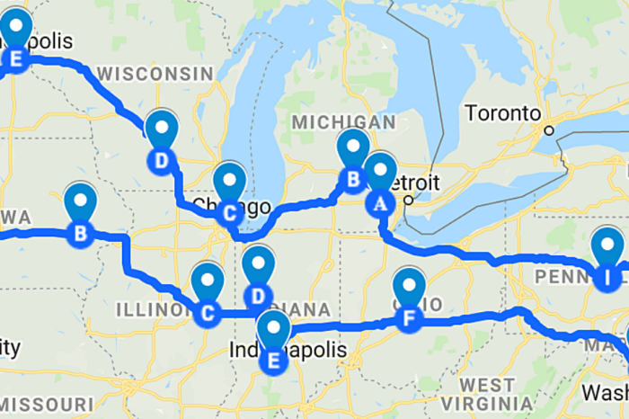 This Big Ten Road Trip Takes You to 14 Spectacular Cities and Stadiums