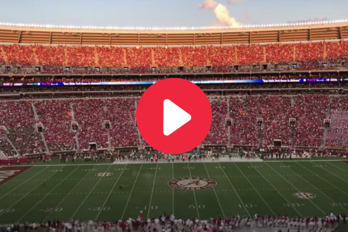 Bryant-Denny Stadium's Beauty Captured In 2 Minute Time-Lapse