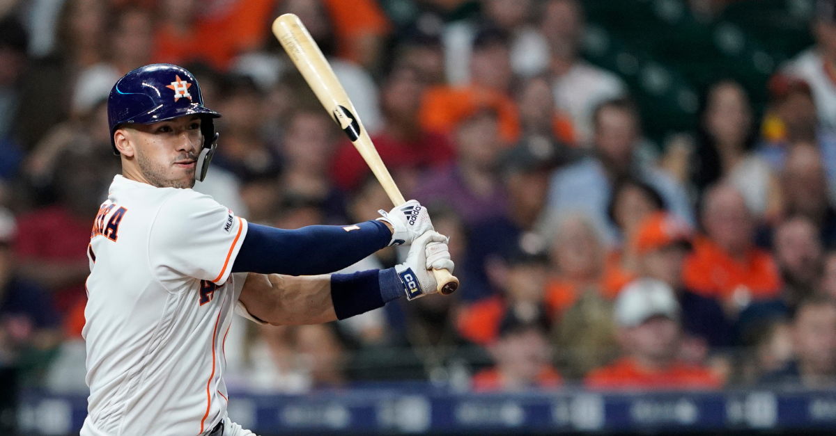 Massage Gone Wrong Leaves Astros' Star With Cracked Rib