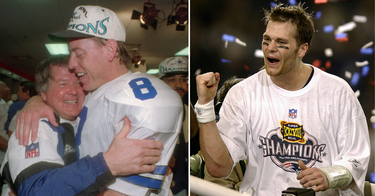 How Would the 1990s Dallas Cowboys Stack Up Against the 2000s Patriots?