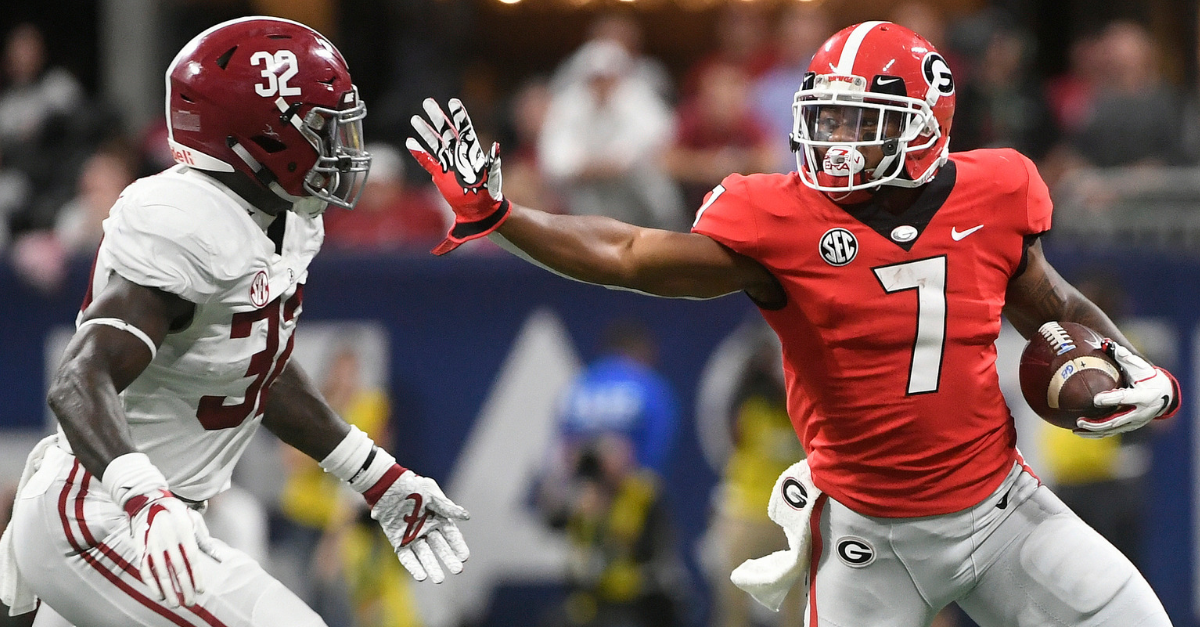Georgia Football s Toughest Games Of Ranked Fanbuzz