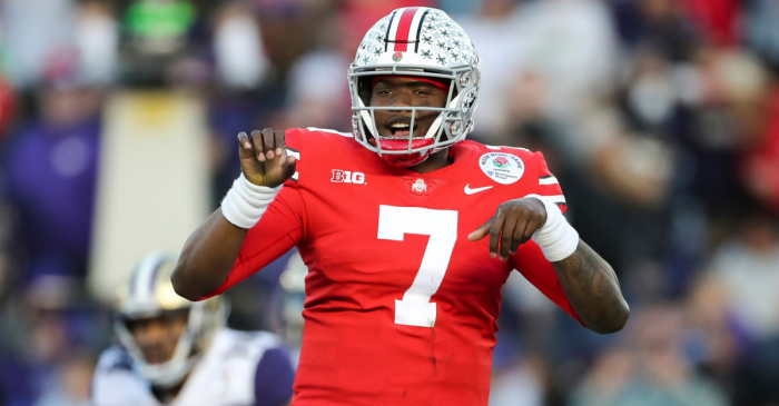 Joe Theismann Gives Dwayne Haskins His Blessing to Wear No. 7