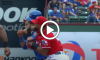 Jose Bautista Roughned Odor fight
