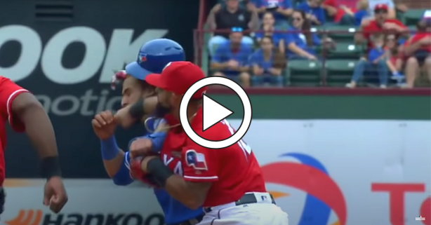 "Jose Bautista Learned What ""Don't Mess With Texas"" Means"