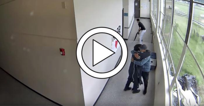 High School Coach Disarms School Shooter, Then Hugs Him