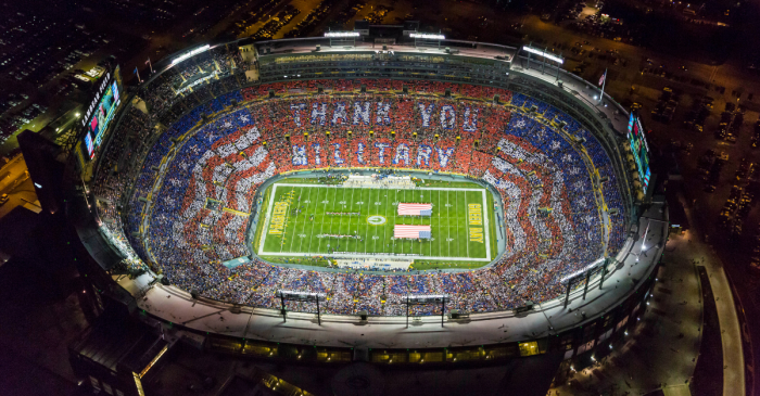 Here Are All 31 NFL Stadiums, Ranked Best to Worst