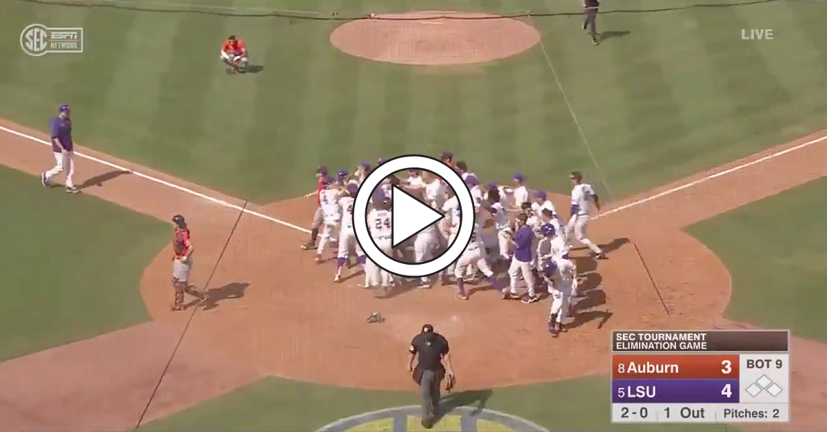 Walk-Off Wild Pitch Gifts LSU Incredible SEC Tournament Win