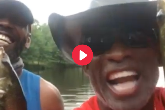 WATCH: Deion Sanders and Randy Moss Take Legendary Fishing Trip