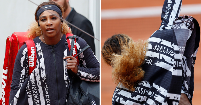"Serena Williams Delivers Powerful Message with Outfit Made for a ""Queen"""