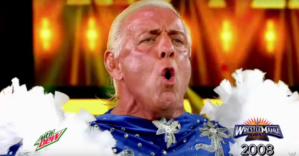 Was Ric Flair's Last Match His Greatest Performance?