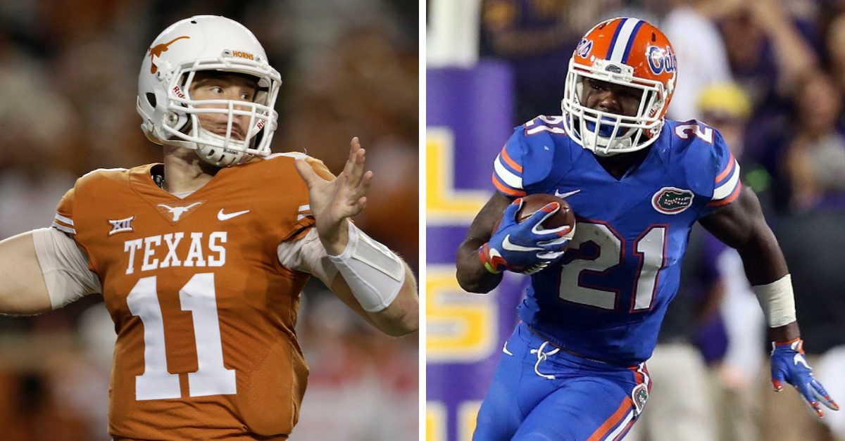 Texas-Florida to Meet on the Gridiron After 90 Years