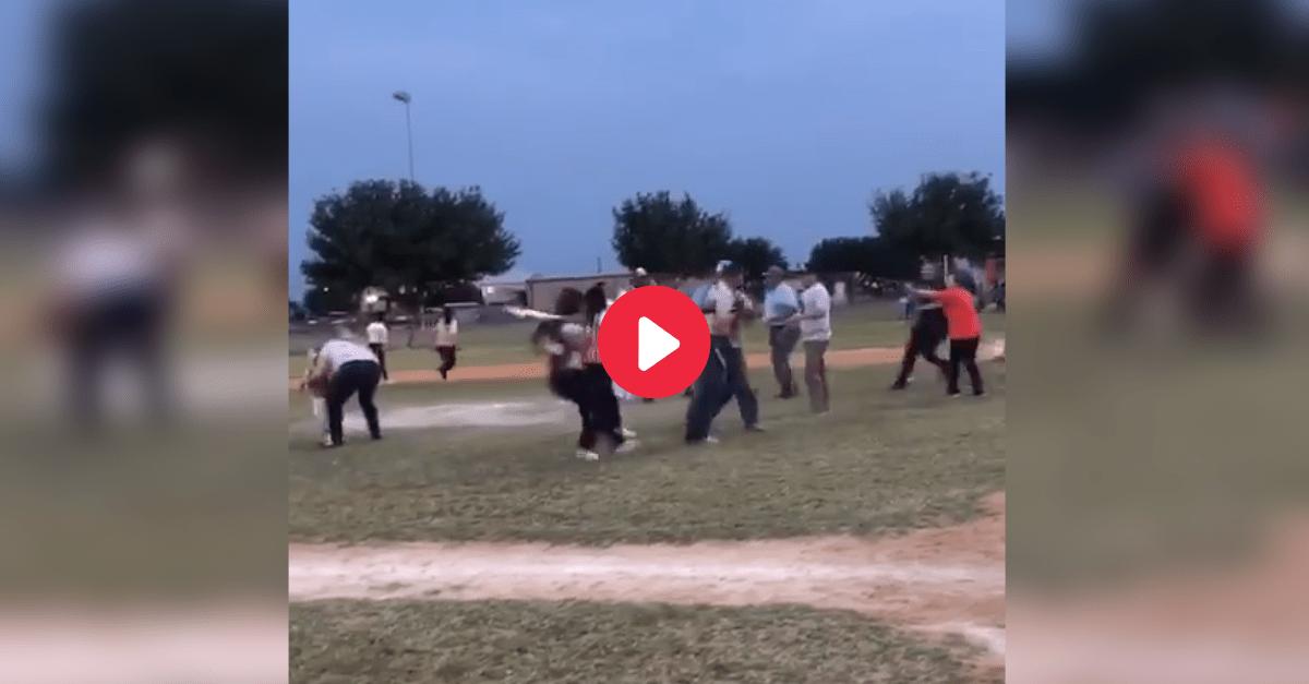 Tee-Ball Brawl Between Parents Spills Onto the Field
