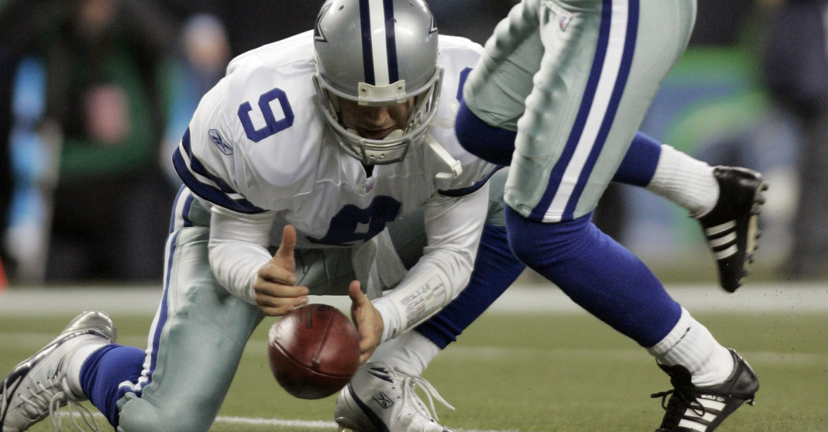 Tony Romo's Playoff Fumble Will Forever Haunt the Dallas Cowboys