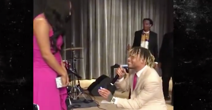 WATCH: Tyrann Mathieu Proposes With $250,000 Diamond Ring