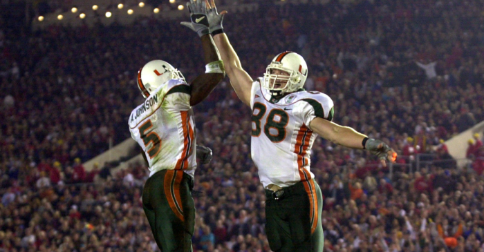 The 2001 Miami Hurricanes Would Beat Any Team, Any Time