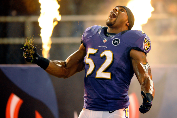 """How Ray Lewis' """"Squirrel Dance"""" Became His Signature Move"""