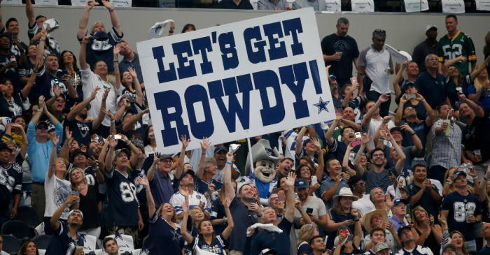 Dallas Cowboys Have the NFL's Greatest Fans, New Study Proves