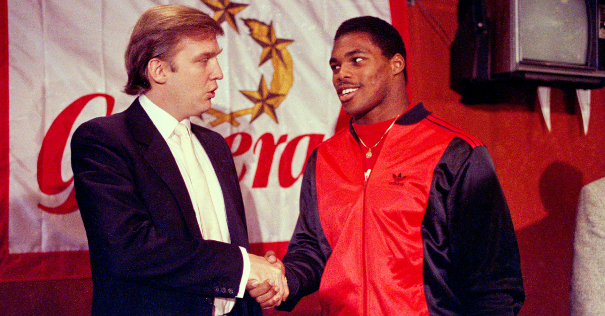 Donald Trump's USFL Team Was a Football Powerhouse in the 1980s