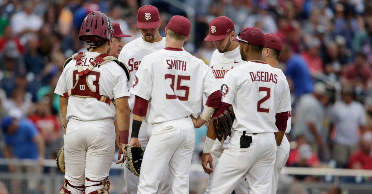 Florida State Struggles at the Plate, Loses to Michigan at CWS