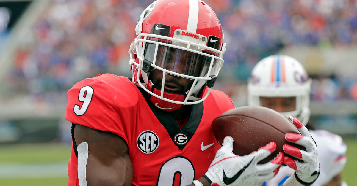 Georgia's No. 1 Wide Receiver Kicked Off The Team