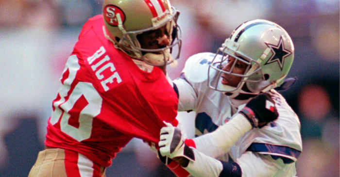 Jerry Rice vs. Deion Sanders: Every Game in This Legendary Matchup