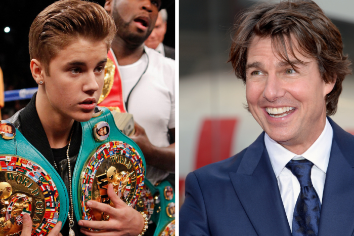 Justin Bieber Challenged Tom Cruise to a Fight, And Man, We Need to See This
