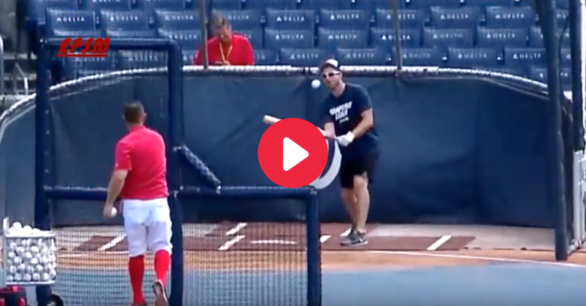 WATCH: Nationals Pitcher Breaks His Nose During Bunting Practice