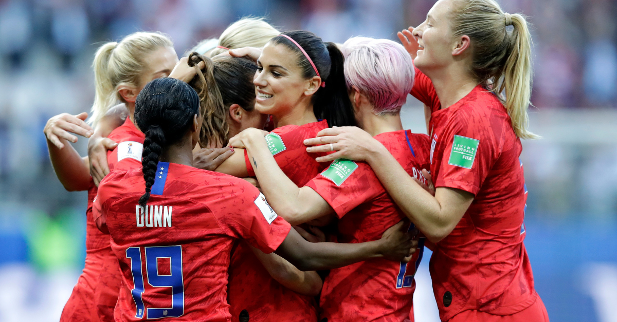 U.S. Destroys Thailand, 13-0, in Women's World Cup Opener