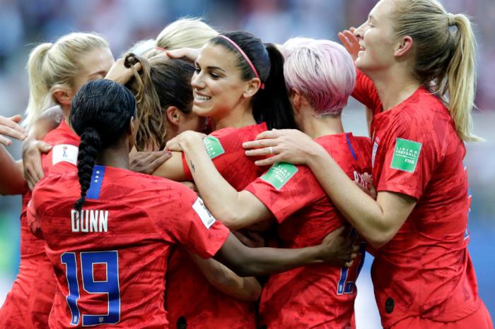 U.S. Destroys Thailand, 13-0, in Women's World Cup Opener