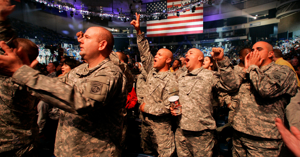 Did You Know WWE Offers Military Personnel Free Tickets to Events??