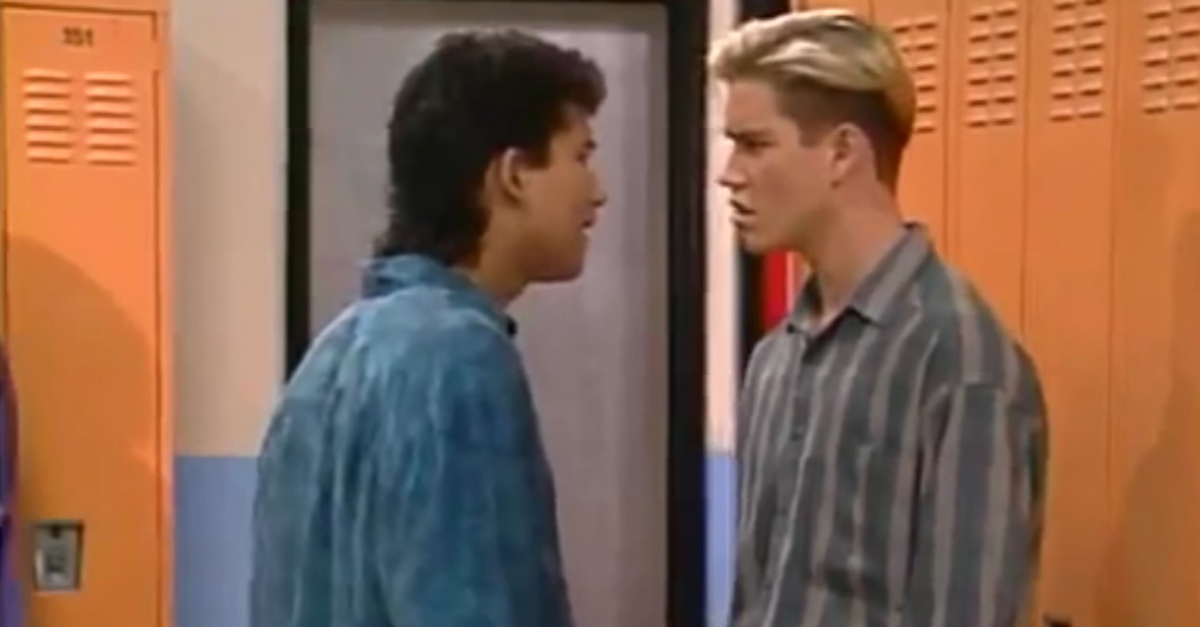 'Saved by the Bell' Co-Stars Now Actually Train for MMA Together