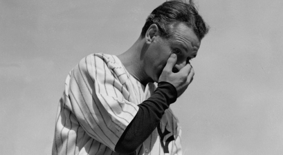 "Lou Gehrig's ""Luckiest Man"" Speech on July 4, 1939 Still Gives Us Chills"