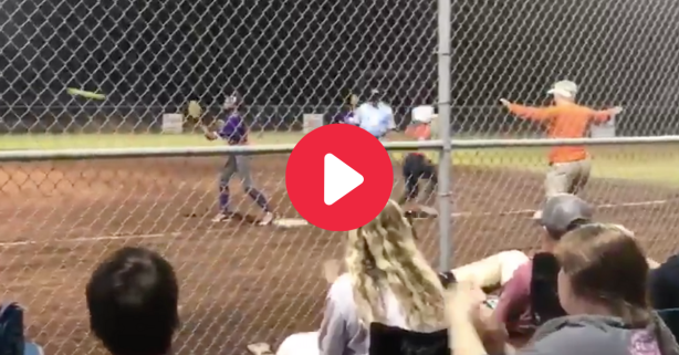Lazy Umpire Robs Softball Player's Hit With Horrendous Call