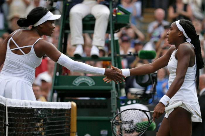 15-Year-Old Upsets Venus Williams, 39, at Wimbledon