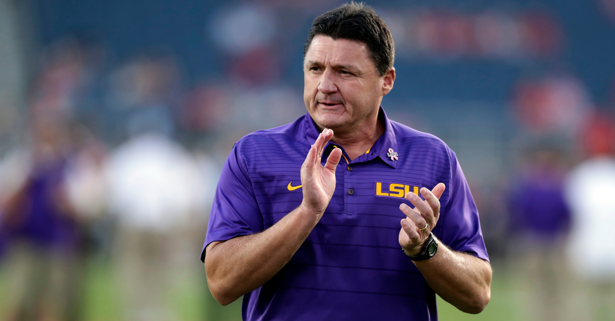 Ed Orgeron's Coaching Journey Led Him Back Home to LSU