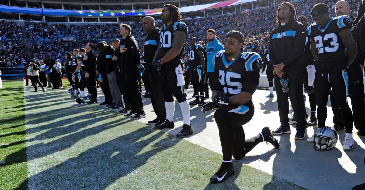 "Eric Reid Won't Stop Anthem Protest: ""We've Got to Keep Fighting"""