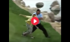 Goldberg Throws Guy in Water